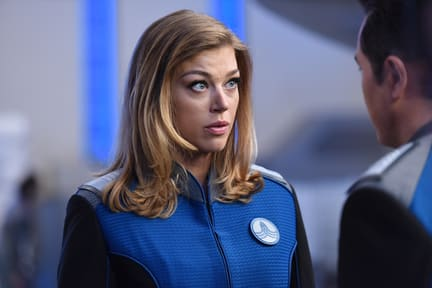 First Officer Grayson - The Orville Season 1 Episode 6