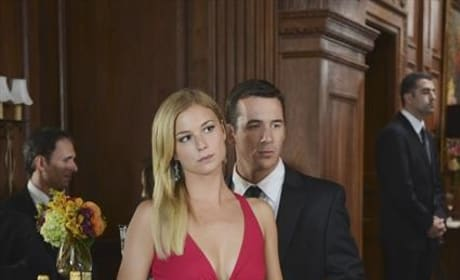Aiden and Emily at the Wedding