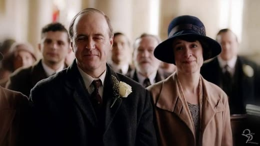Molesley & Baxter - Downton Abbey