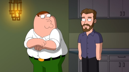 Losing His Job - Family Guy