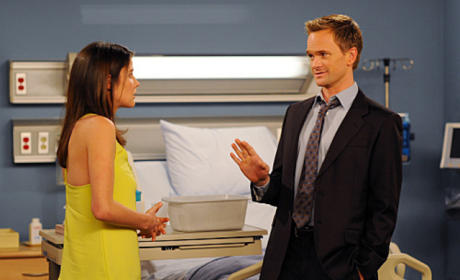 Barney and Robin Discuss Feeling