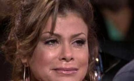Paula Abdul Crying