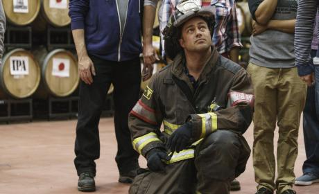 Severide Oversees Rescue - Chicago Fire Season 5 Episode 9