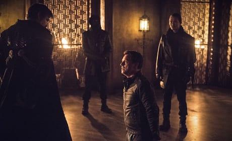 Maseo Stands Guard - Arrow Season 3 Episode 15