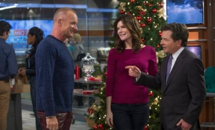The Michael J. Fox Show Cast Previews Christmas Episode, A Very Special Guest Star