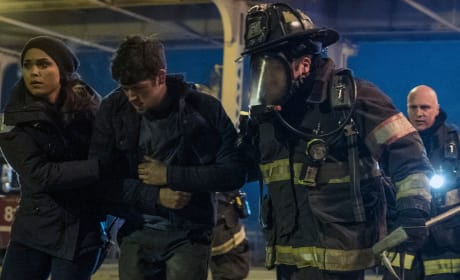 Helping Warehouse Victims - Chicago Fire Season 5 Episode 15