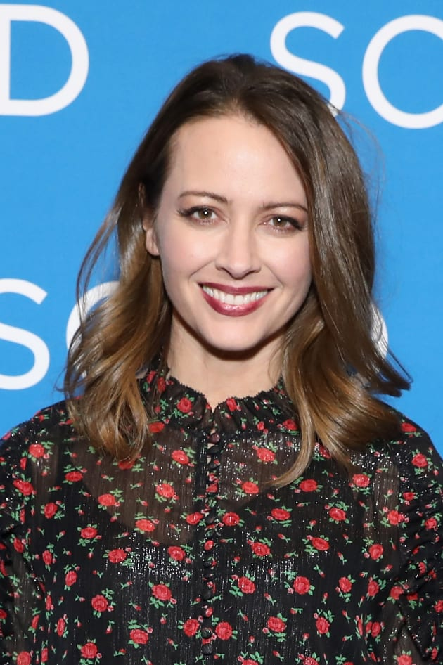 Amy Acker Attends aTVfest