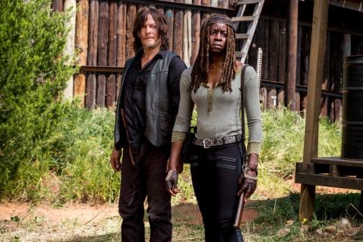 Sticking To The Plan - The Walking Dead Season 8 Episode 12