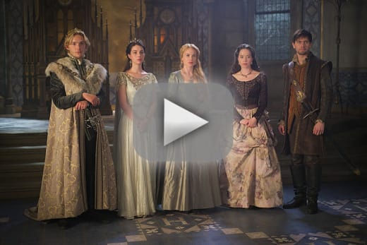 reign season 3 episode 1 review three queens two tigers tv fanatic