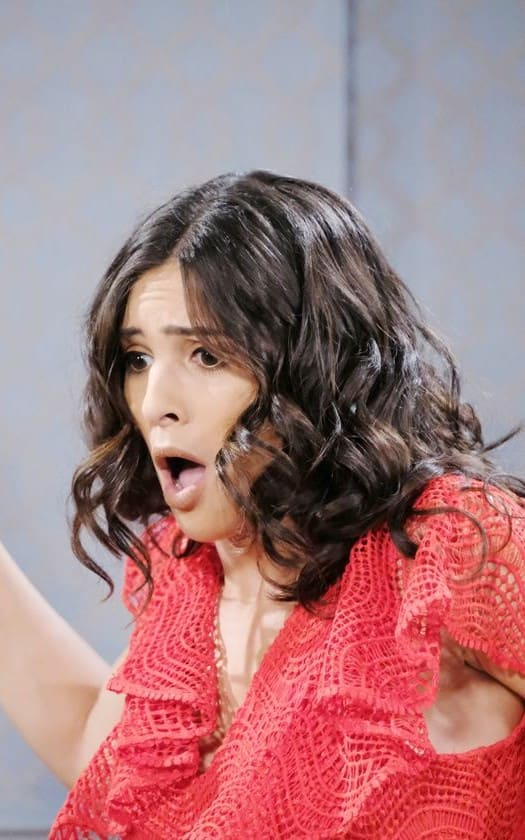 Gabi is Shocked - Days of Our Lives