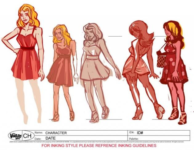 Nikki Nightgown Concept Drawing