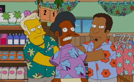 Apu in Trouble