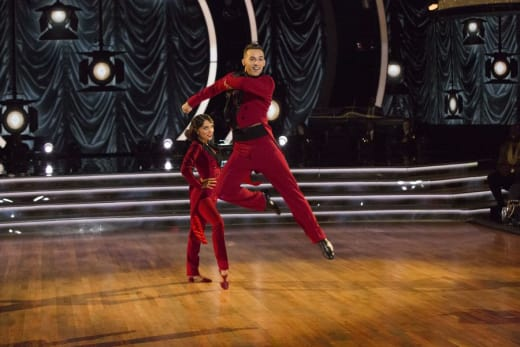 Adam Rippon Takes To the Sky - Dancing With the Stars: Athletes Season 26 Episode 4