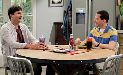 Two and a Half Men Review: Beware of Dogzilla