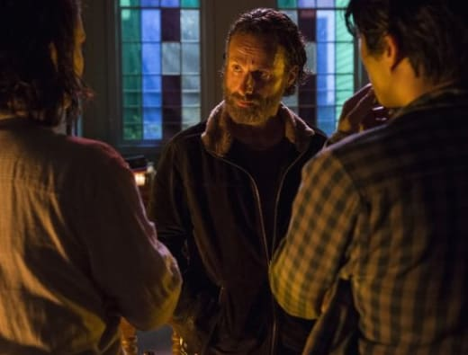 Conference with Rick - The Walking Dead Season 5 Episode 3