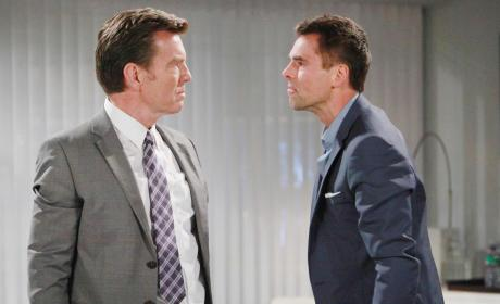 Confrontation - The Young and the Restless