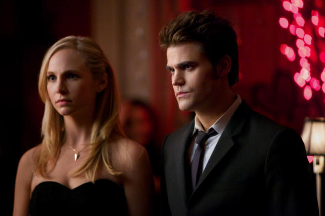 Caroline and Stefan - The Vampire Diaries