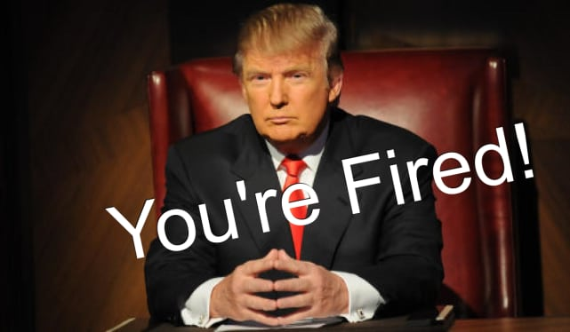 You're Fired - The Apprentice