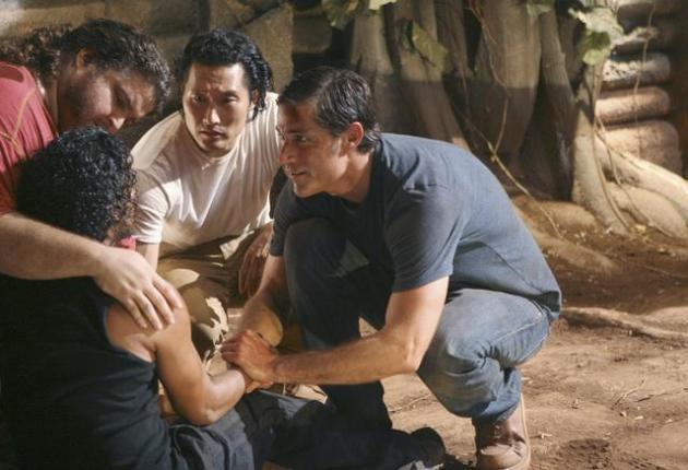 Jack and... Sayid?