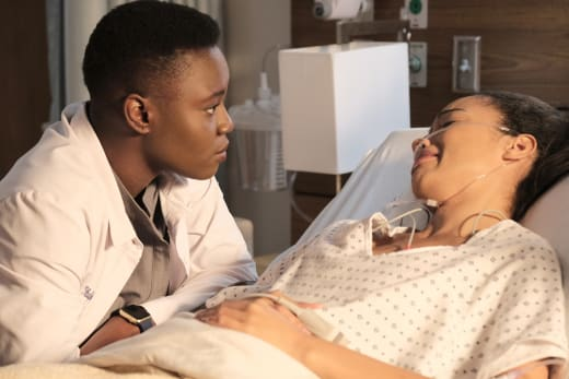 Showing She Cares - The Resident Season 2 Episode 15
