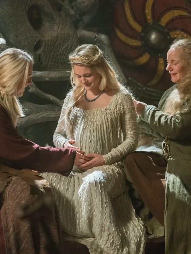 Pregnant Freydis - Vikings Season 5 Episode 16