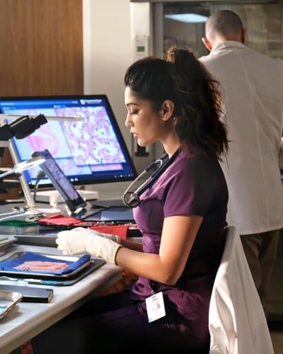 Leela Skills- Tall - The Resident Season 4 Episode 12