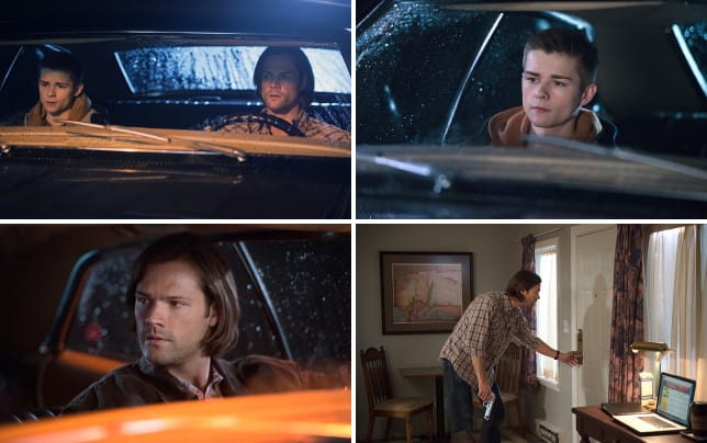 Sam and young dean supernatural season 10 episode 12