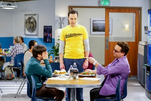 Furious With Sheldon - The Big Bang Theory