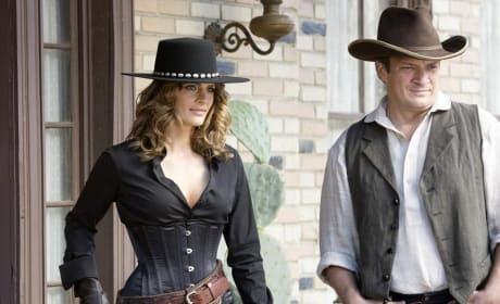 The Wild West - Castle Season 7 Episode 7