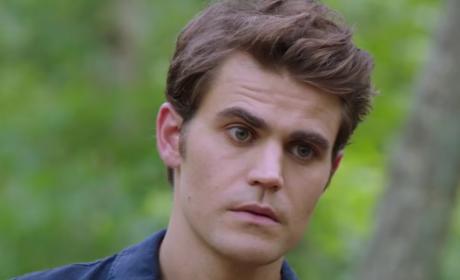 Stefan on Season 8 Premiere - The Vampire Diaries