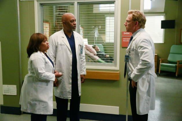 Bailey, Richard, and Owen - Grey's Anatomy Season 11 Episode 22