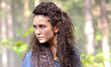 Nina Dobrev at Tatia - The Originals Season 2 Episode 5