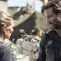 Kane and Abby Having A Moment - The 100 Season 3 Episode 3