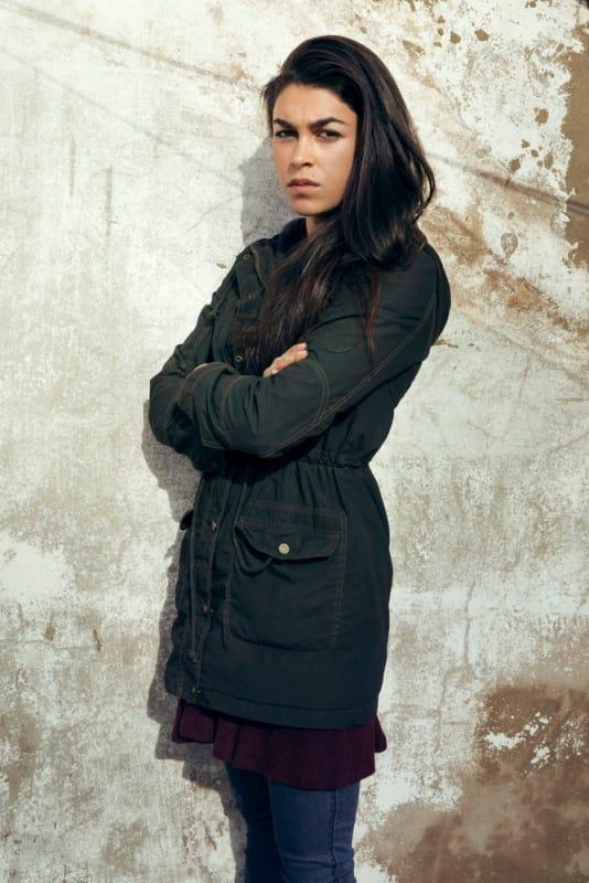 """Sgt. Jasmine """"Jaz"""" Kahn Played by Natacha Karam - The Brave"""