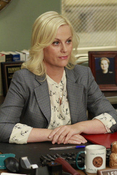 Leslie at Work