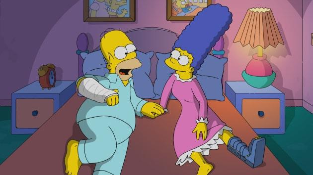 A Romantic Night - The Simpsons