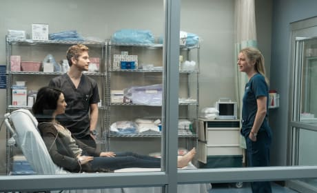 Old Flame Meets the New One - The Resident Season 1 Episode 9