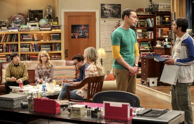 Sheldon and Raj Talk - The Big Bang Theory Season 10 Episode 18