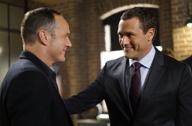 Coulson and mack agents of shield