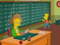 A Teacher's Diary - The Simpsons