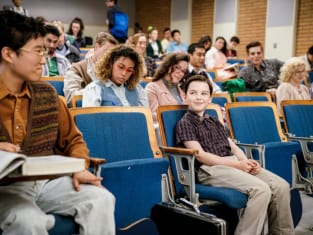 College Classes - Young Sheldon