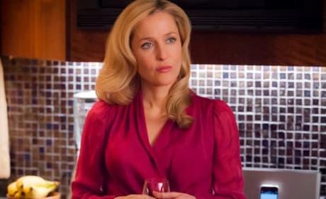 Gillian Anderson on Hannibal