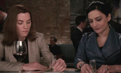 Archie Panjabi Confirms Edited Kalinda-Alicia Scene on The Good Wife Finale