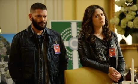 Quinn and Huck - Scandal Season 4 Episode 17