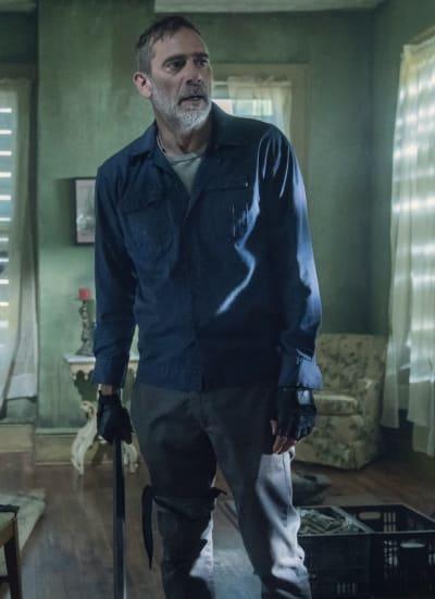 Negan in Meridian - The Walking Dead Season 11 Episode 5