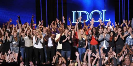 American Idol in Hollywood