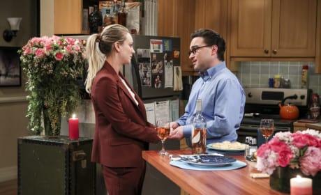 Penny and Leonard Have a Chat - The Big Bang Theory Season 10 Episode 13