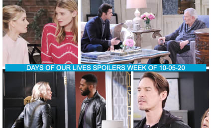 Days of Our Lives Spoilers Week of 10-05-20: Packed Full of Drama