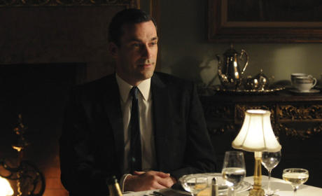 Dinner with Don Draper