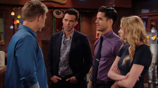 Meeting Travis - The Young and the Restless